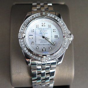 BREITLING COCKPIT Diamond Ladies Watch